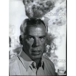 1967 Press Photo Lee Marvin in Our Time in Hell - orx03278