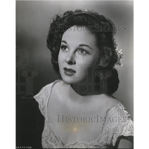 1950 Press Photo Susan Hayward in My Foolish Heart - orx03374