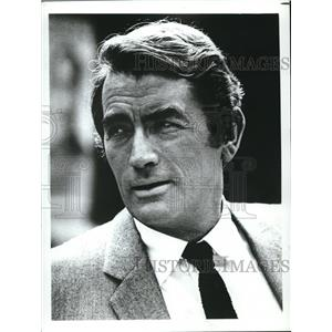 Press Photo Popular movie actor Gregory Peck of the 40's to the 60's - orx01534