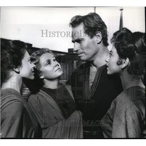 1960 Press Photo Charlton Heston in Ben Hur - orx02857