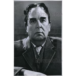 1960 Press Photo Oscar Wilde played by look alike Robert Morley - orx02357
