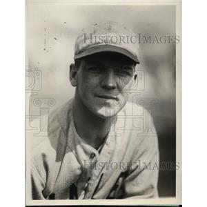 1929 Press Photo John Garver captain of Yale University baseball team