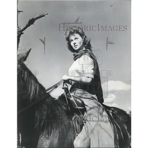 1954 Press Photo Susan Hayward in Garden of Evil - orx03379