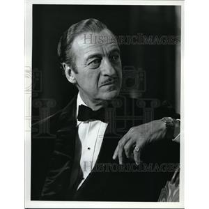 1973 Press Photo David Niven Stars In Prudence and the Pill