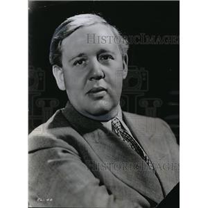 1958 Press Photo Actor Charles Laughton died of Cancer