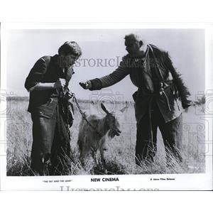 1961 Press Photo Roman Polanski in The Fat and the Lean