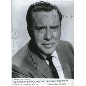 1967 Press Photo Edmond O'Brien  in The Viscount