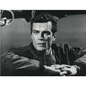 1961 Press Photo Gardner McKay stars in Adventures in Paradise.