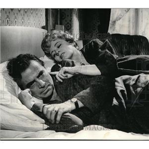 1962 Press Photo James Mason & Shelley Winters in Lolita