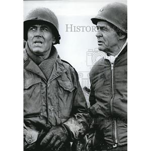 1966 Press Photo Henry Fonda, Robert Ryan Battle of Buldge