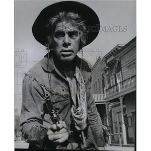 1965 Press Photo Lee Marvin in Cat Ballou