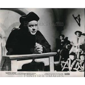 1953 Press Photo Niall MacGinnis as Martin Luther