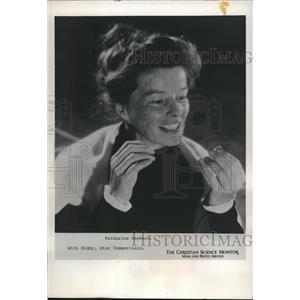 1974 Press Photo Katherine Hepburn