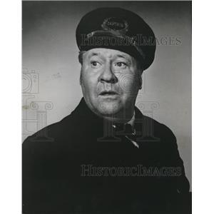 1960 Press Photo Jack Oakie In Gang Buster