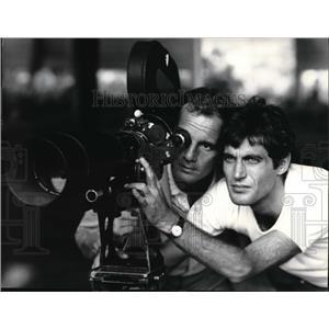 1967 Press Photo Philippe Leroy and Gabriele Tinti in The Wild Eye