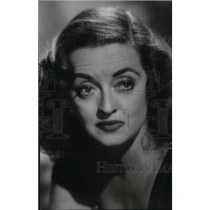 1950 Press Photo Bette Davis in All About Eve