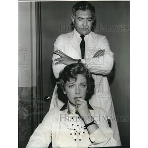 1961 Press Photo Ida Lupino Stars In Image Of Doctor