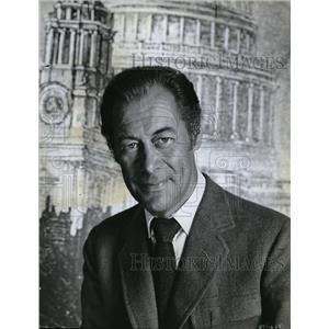 1964 Press Photo Rex Harrison as Best Actor in Pygmalion