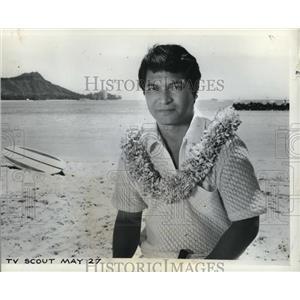 1968 Press Photo Don Ho in Hawaii Ho