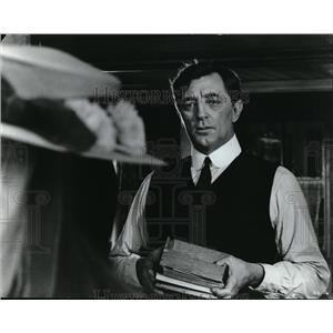 Press Photo Actor Robert Mitchum