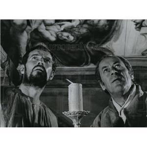 1966 Press Photo Charlton Heston and Rex Harrison
