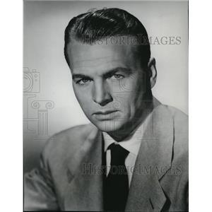 1953 Press Photo John Lund Stars In OHallorans Luck