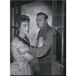 1960 Press Photo Frankie Laine And Nan Grey