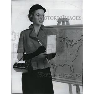 1952 Press Photo Dorothy McGuire in Callaway Went That away