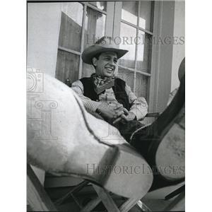 1967 Press Photo Don Knotts On Bob Hopes Presents
