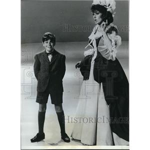 1967 Press Photo Stuart Getz and Maureen OHara in Whos Afraid of Mother Goose