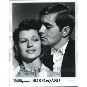 1981 Press Photo Tyrone Power & Rita Hayworth in Blood and Sands