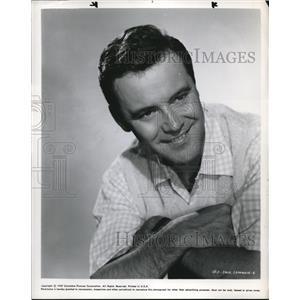 1957 Press Photo Jack Lemon