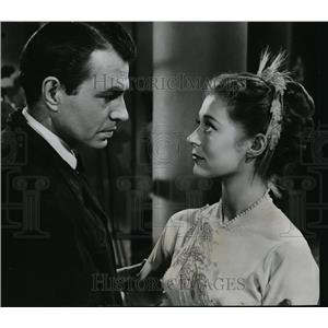 1953 Press Photo James Mason & Moira Shearer in Story of Three Loves