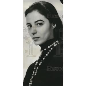 1956 Press Photo Marisa Pavan as she stars in Aluminum Hour