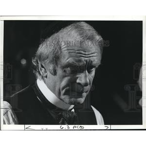 Press Photo Actor Lawrence Olivier in a acting role
