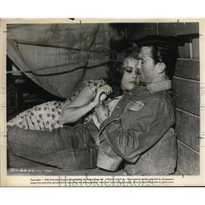 1962 Press Photo Laurence Harvey & Jane Fonda in Walk on the Wild Side