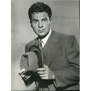 1961 Press Photo Paul Picerni featured in Gale Storm Show
