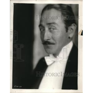 1928 Press Photo Adolphe Menjou, a film actor