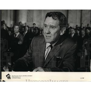 Press Photo Burgess Meredith In Advise & Consent