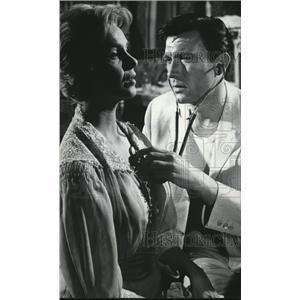 1962 Press Photo Geraldine Page Laurence Harvey In Summer And Smoke