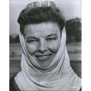 1969 Press Photo Katharine Hepburn American Academy winner for Best Actress.