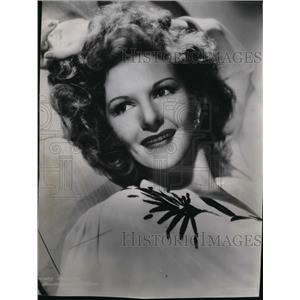 1943 Press Photo Mary Martin