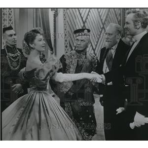 1956 Press Photo Deborah Kerr & Yul Brynner in King and I