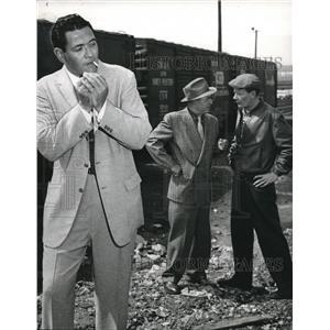 1958 Press Photo Simon Oakland In Twelve Cases Of Murder