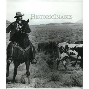 1968 Press Photo Charlton Heston as he stars in Will Penny