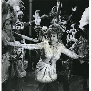 "1965 Press Photo Ethel Merman, in ""Art of Love"" with James Garner, Elke Sommer"