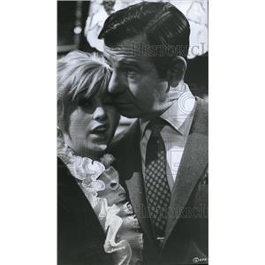 "1970 Press Photo Goldie Hawn in ""Cactus Flower"""