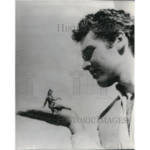 1960 Press Photo Kerwin Mathews The Three Worlds of Gulliver