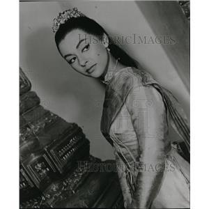 1956 Press Photo Rita Moreno