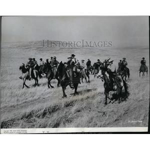 1958 Press Photo Charlton Heston in Big Country